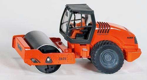 Hamm 3625 Walzenzug Modell von Siku 1:50