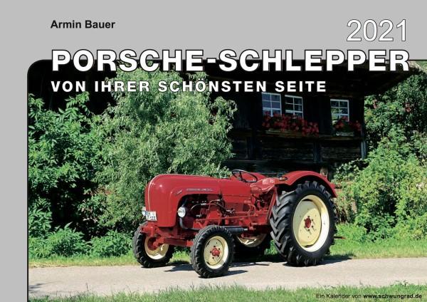 Porsche Schlepper Monatskalender 2021