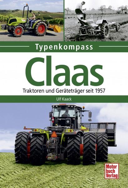 Typenkompass Claas Traktoren und Geräteträger seit 1957