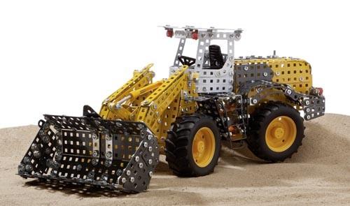 Metallbaukasten Liebherr Radlader Modell von Tronico 1:25