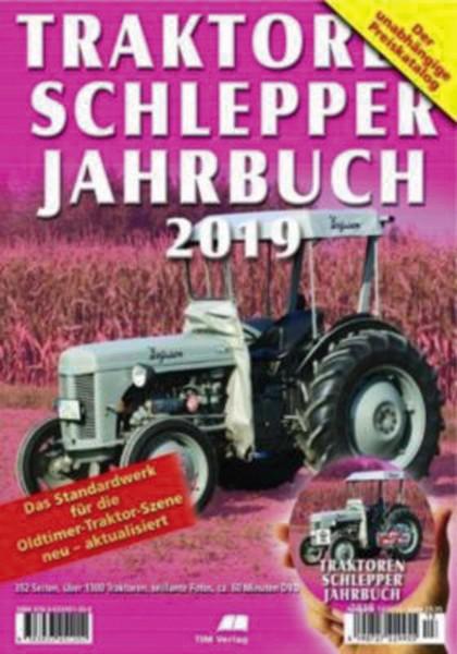 Traktoren Schlepper Jahrbuch 2019 inkl. DVD