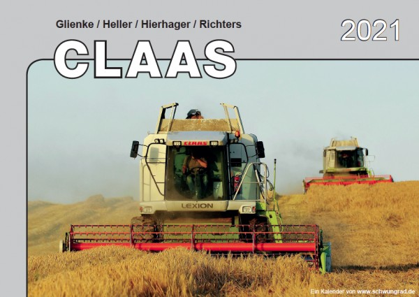 Claas Monatskalender 2021
