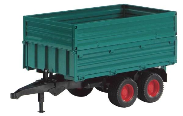 Tandemachs-Transportanhänger mit Aufsteckbordwand Modell von Bruder 1:16