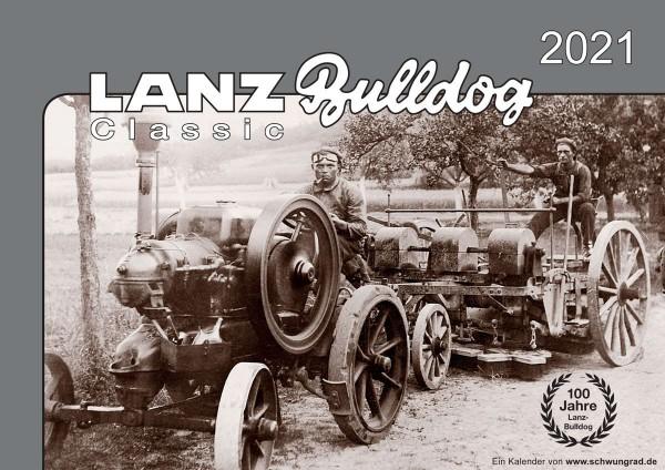 Lanz Bulldog Monatskalender 2021