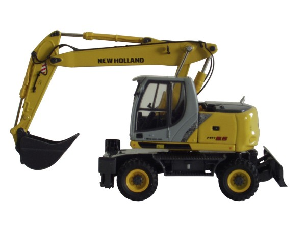 New Holland MH 5.6 Mobilbagger Modell von ROS 1:50