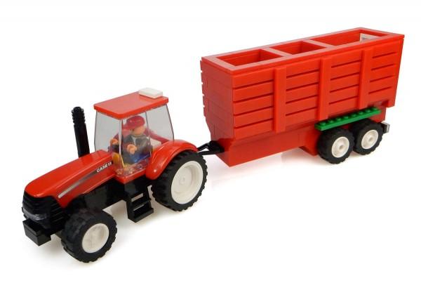 UH Kids Case IH Traktor mit Heuwagen Bausatz