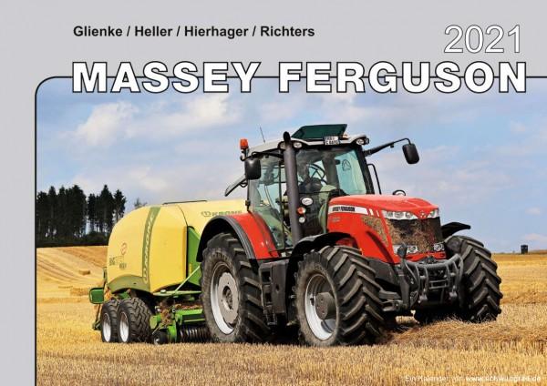 Massey Ferguson Monatskalender 2021