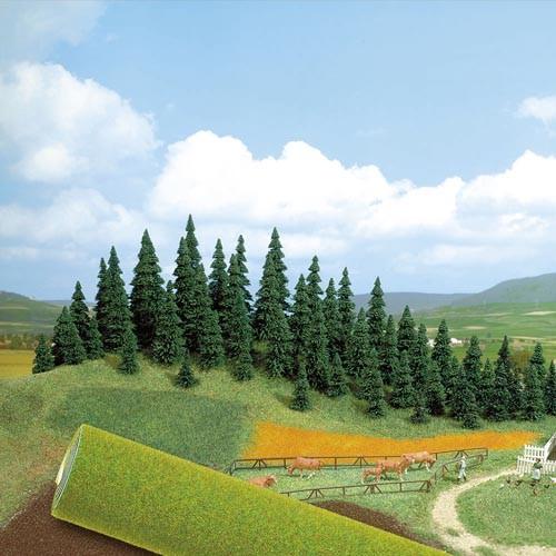 Gelände-Teppich (maigrün) Modell von Busch 1:87