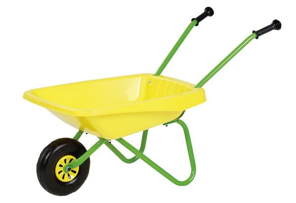 Schubkarre grün/gelb von rolly toys