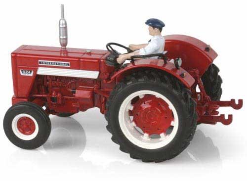 IHC 624 mit Fahrer Modell von Replicagri 1:32