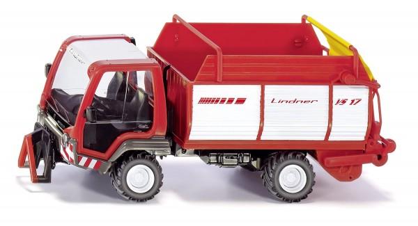 Lindner Unitrac mit Ladewagen Modell von Siku 1:32