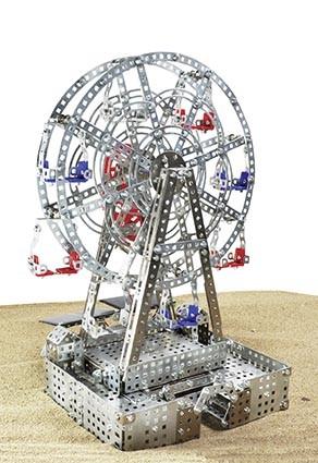 Riesenrad mit Solarzellen-Antrieb Modell von Tronico