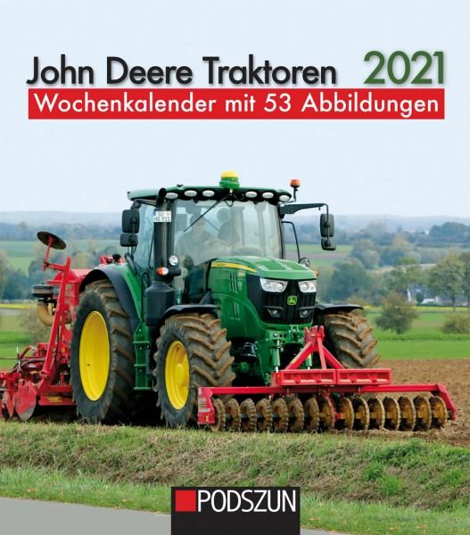 John Deere Traktoren 2021 Wochenkalender