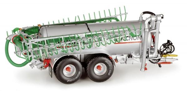 Pichon Tandemgülletankwagen mit Schleppschlauchverteiler Modell von ROS 1:32
