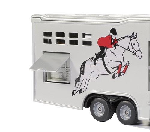 Pferdetransporter Modell von SikuSuper 1:50