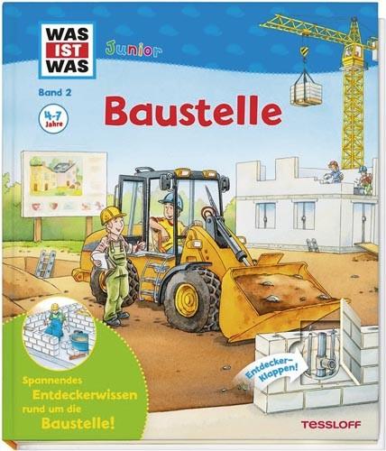 Was ist Was Junior: Baustelle -Band 2-